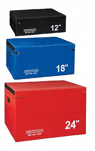 Набор мягких плиобоксов Perform Better First Place Economy Foam Plyo Boxes, 3 шт.